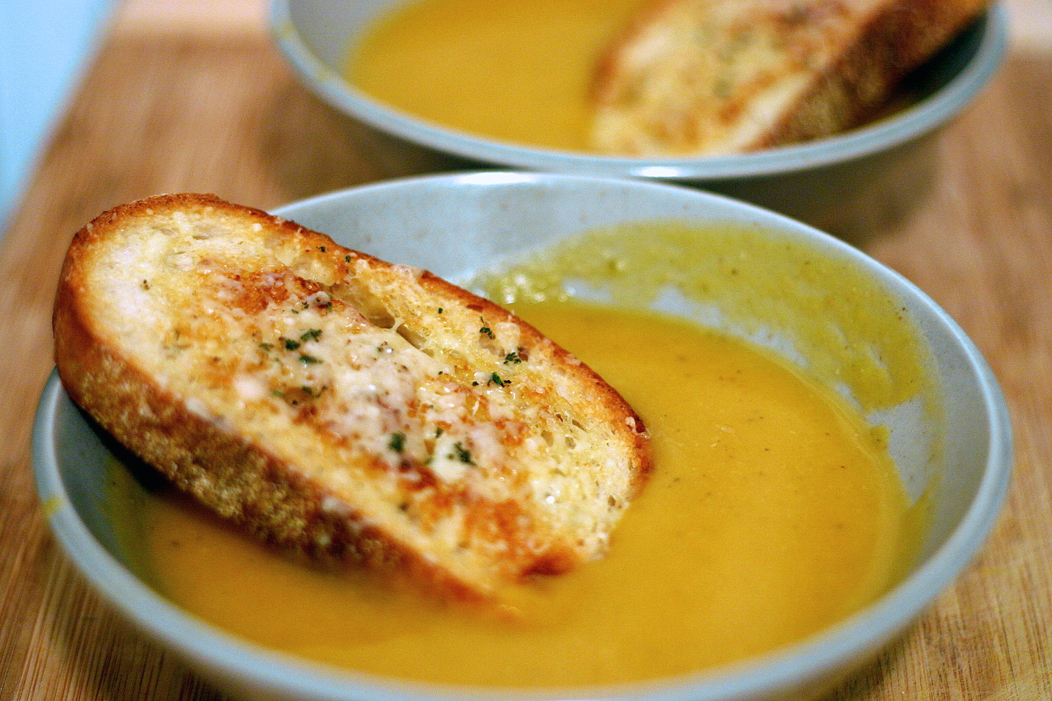 Winter Squash Soup With Gruyere Croutons Smitten Kitchen