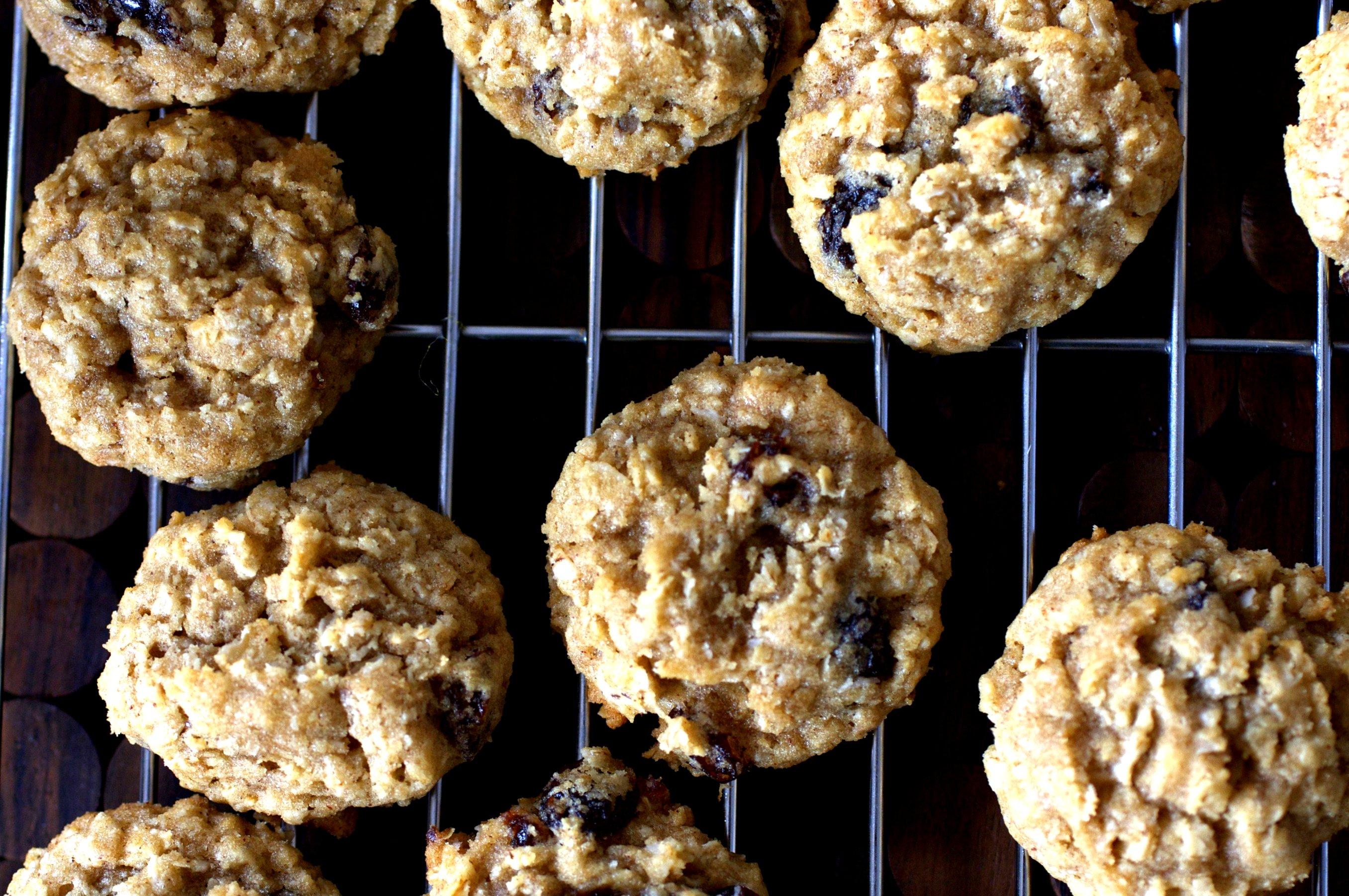 Nancy Bea Porno thick, chewy oatmeal raisin cookies – smitten kitchen