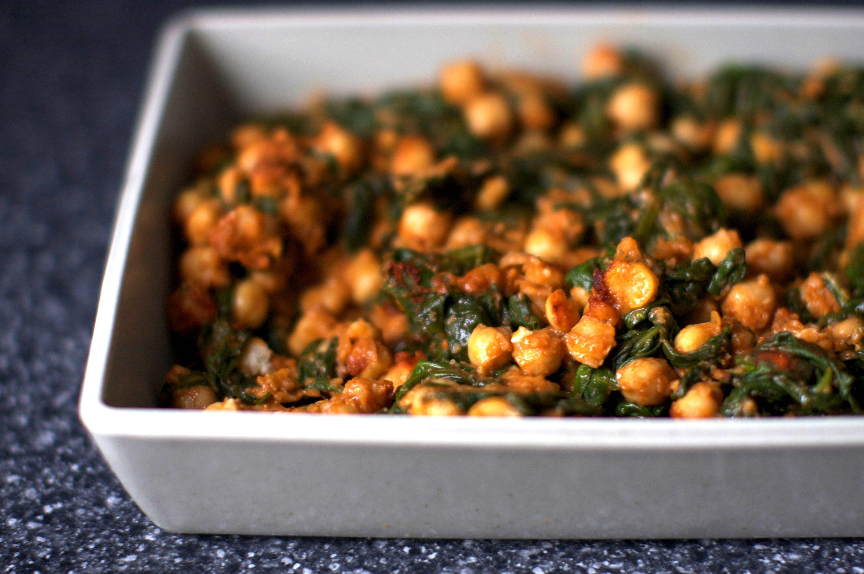 Spinach And Chickpeas Smitten Kitchen