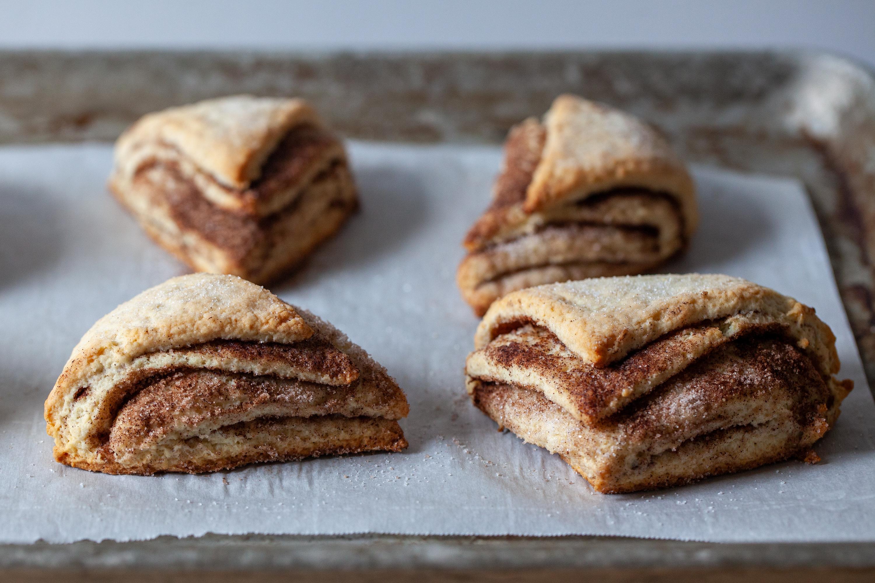 Cinnamon Sugar Scones Smitten Kitchen
