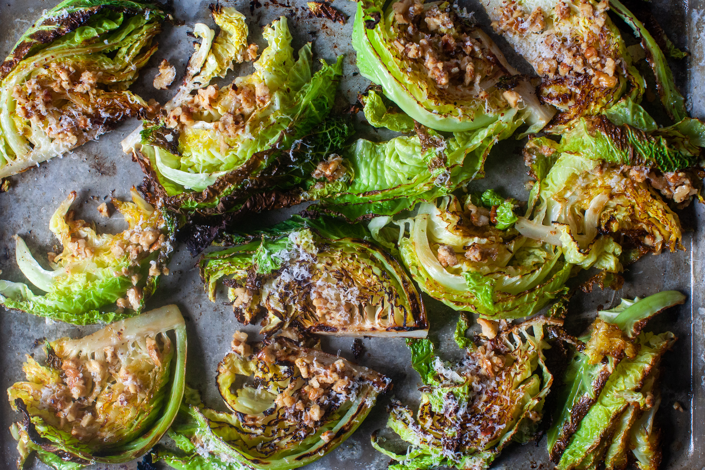 Roasted Cabbage With Walnuts And Parmesan Smitten Kitchen