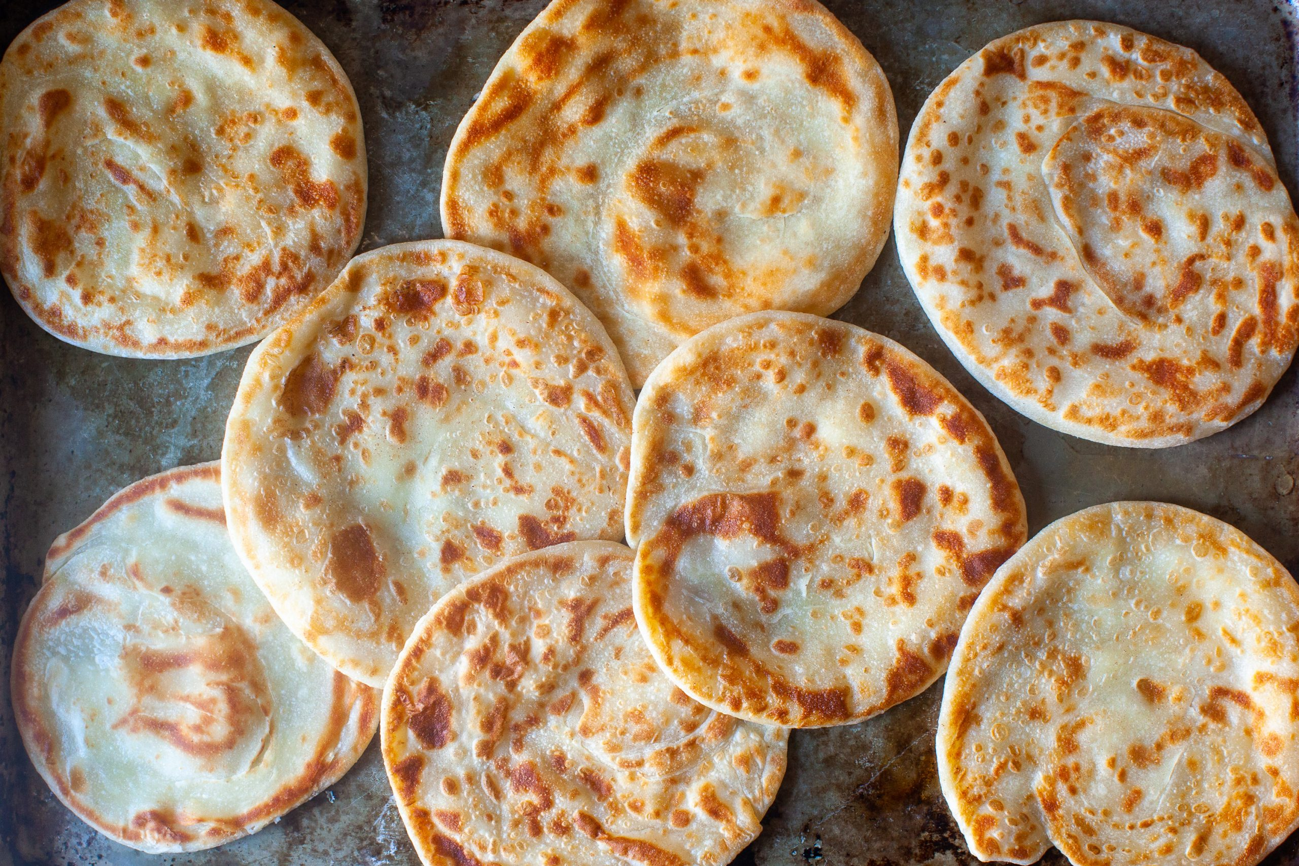 Layered Yogurt Flatbreads Smitten Kitchen